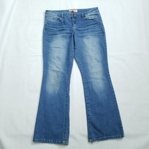 Lei Ashley Low Rise Boot Cut Jeans